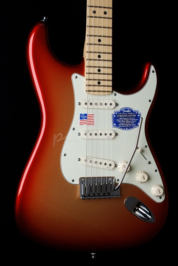 Fender American Deluxe Strat Sunset Metalic SLIGHT MARK