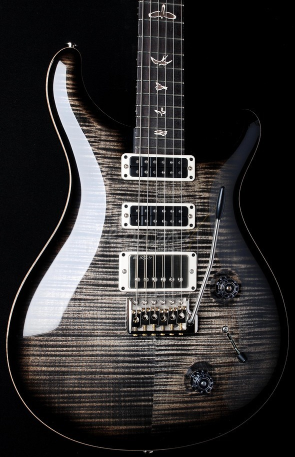 PRS Studio Charcoal Burst 10 top