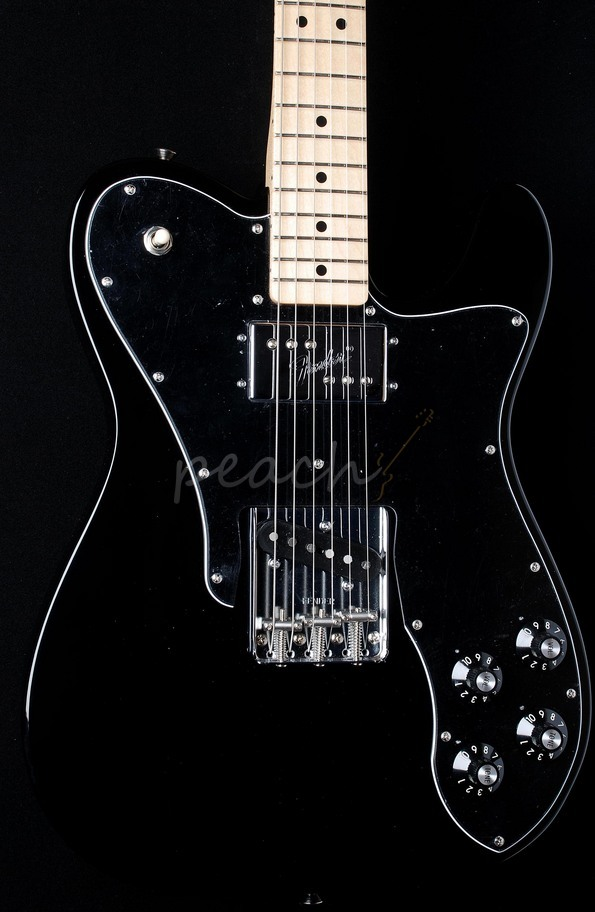 Fender 72 Tele Custom Classic Maple - Black
