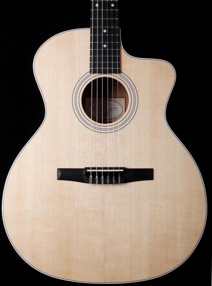 taylor 214ce n peach guitars. Black Bedroom Furniture Sets. Home Design Ideas