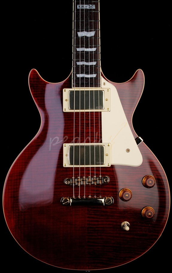 LTD KH-DC See Thru Black Cherry Kirk Hammet