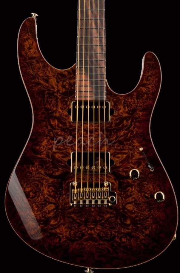Suhr 2013 Collection Bengal Burl Modern