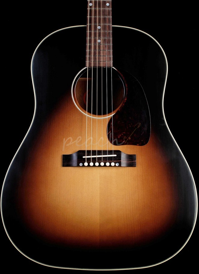 Gibson J45 TV True Vintage Acoustic Vintage Sunburst