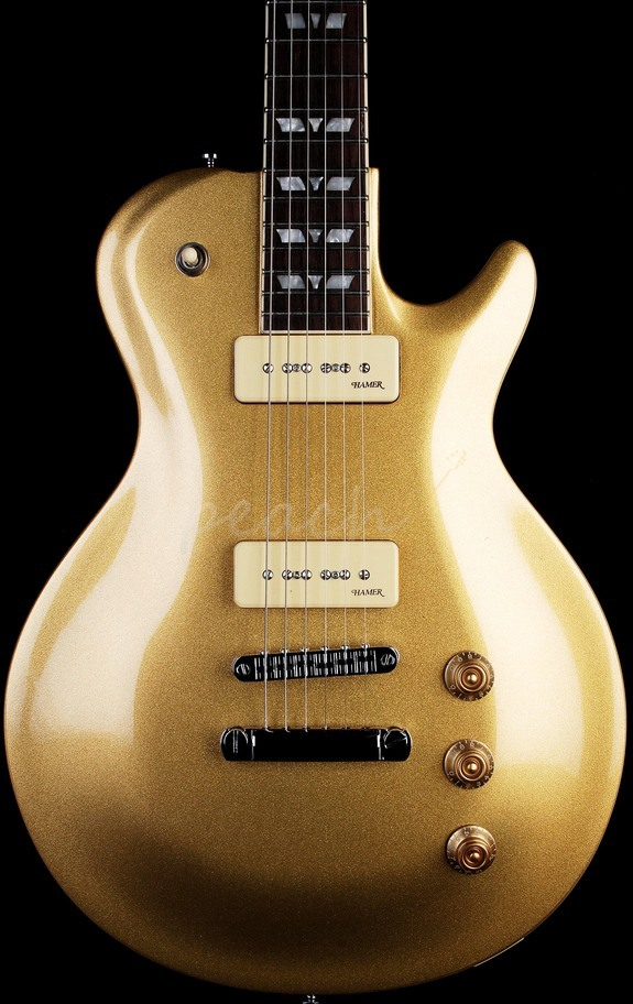 Hamer MONP90-GTK MONACO Goldtop with Gig Bag