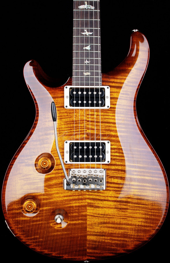 PRS Custom 22 Black Gold Left handed