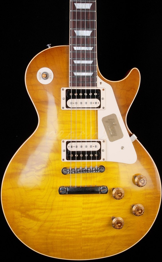 Gibson Custom 1955 VOS Les Paul w/2 Humbuckers Faded Conversion Burst