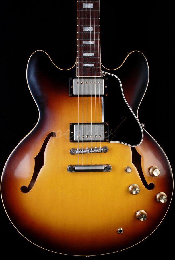 Gibson Custom 1963 ES-335TD Block 50th Anniversary Historic Burst