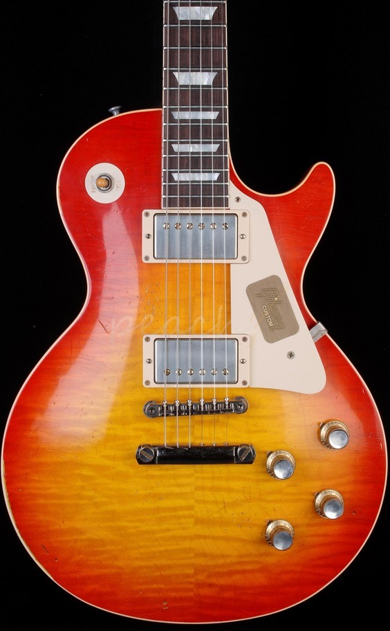 Gibson Custom Joe Walsh 1960 Les Paul Tom Murphy Aged