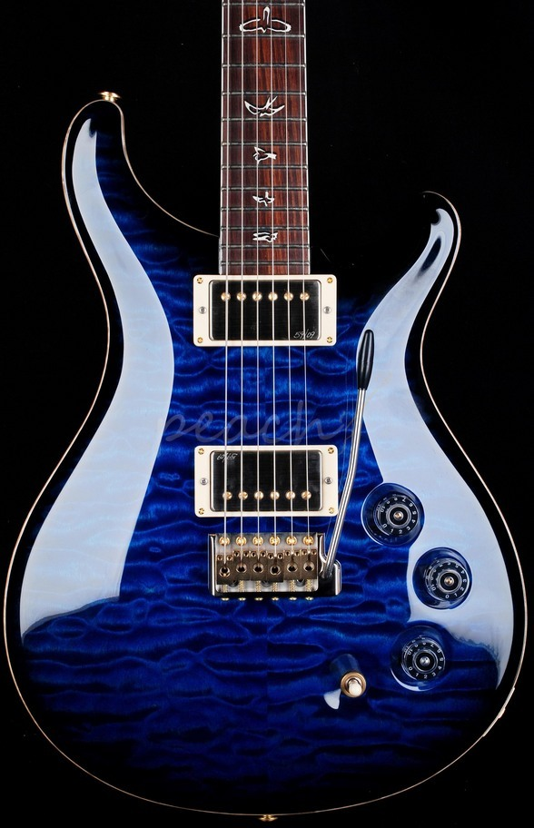 PRS DGT Wood Library Sapphire Smokeburst with Rosewood Neck