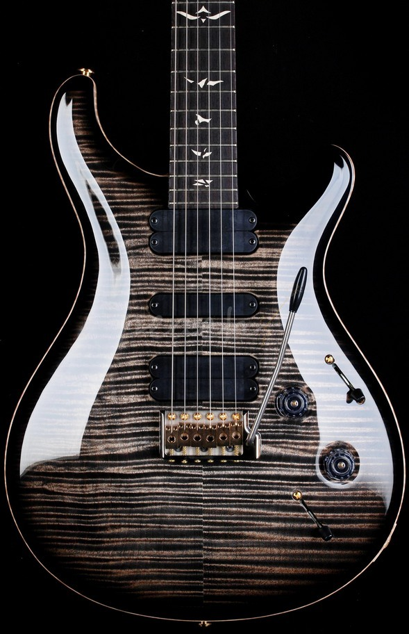 PRS 513 Wood Library Charcoal Burst with Rosewood Neck