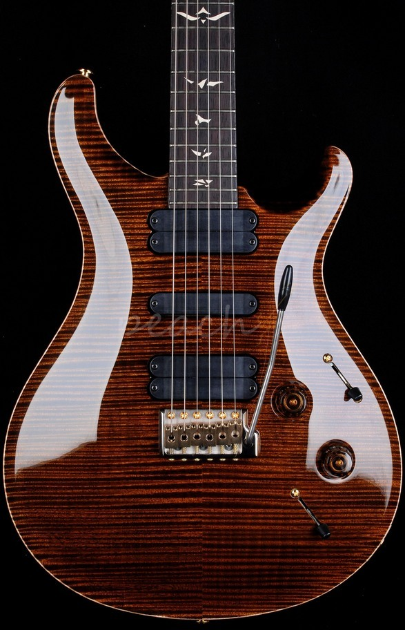 PRS 513 Wood Library Yellow Tiger with Rosewood Neck