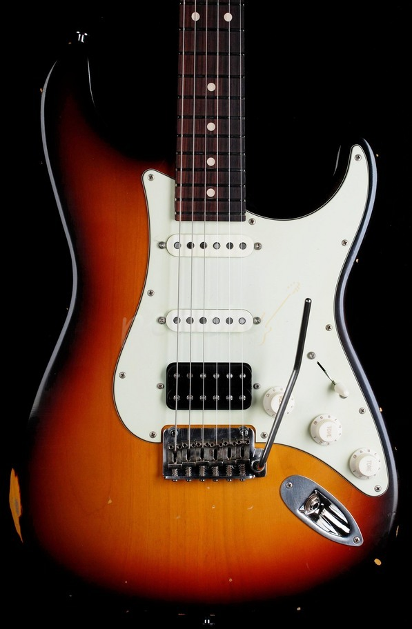 Suhr Classic Antique HSS 3 Tone Sunburst