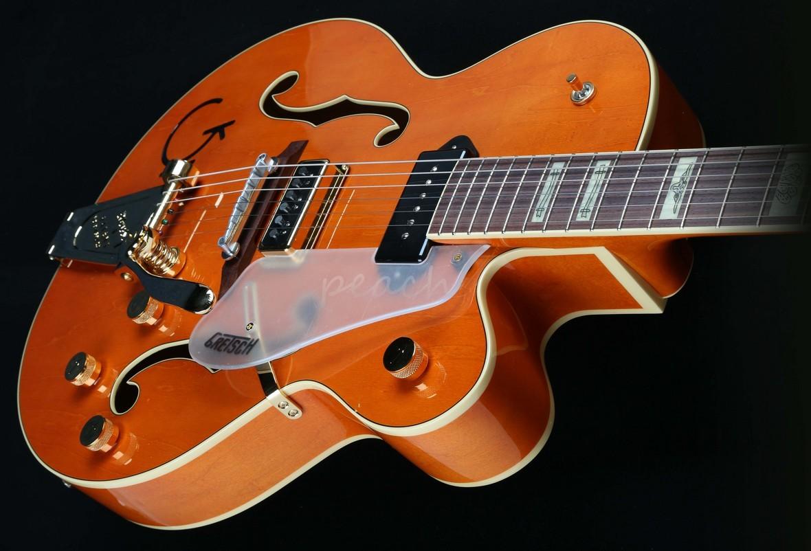 Gretsch Eddie Cochran : gretsch g6120 eddie cochran hollow body peach guitars ~ Russianpoet.info Haus und Dekorationen