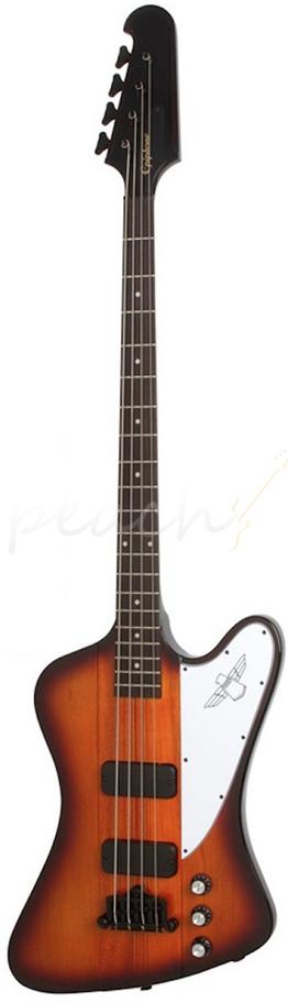 epiphone thunderbird classic iv sunburst peach guitars. Black Bedroom Furniture Sets. Home Design Ideas