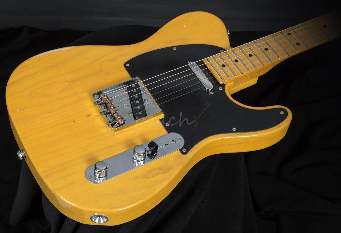 Suhr Classic T Antique Trans Butterscotch Peach Guitars