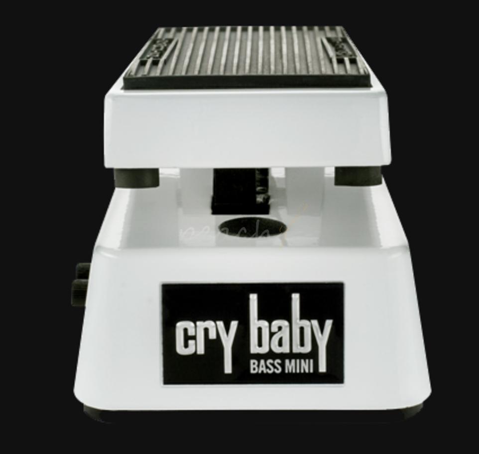 Jim Dunlop Cry Baby Mini Bass Wah Peach Guitars