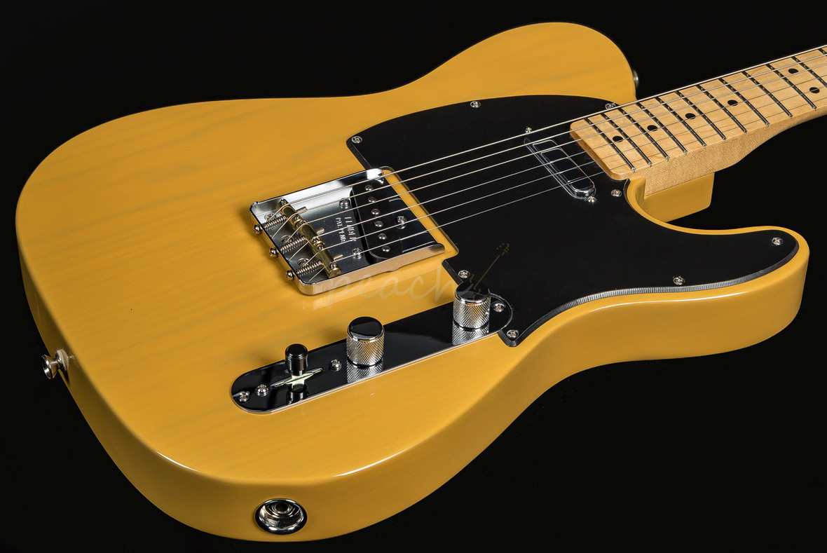 fender special edition deluxe ash tele butterscotch blonde peach guitars. Black Bedroom Furniture Sets. Home Design Ideas