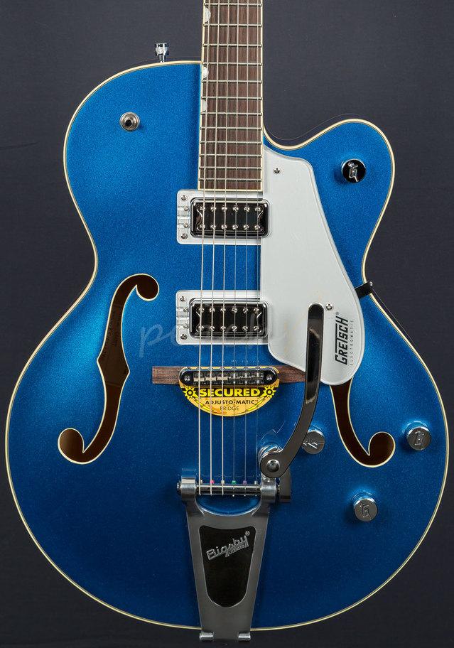 Taylor Guitars For Sale >> Gretsch G5420T Electromatic Fairlane Blue - Peach Guitars