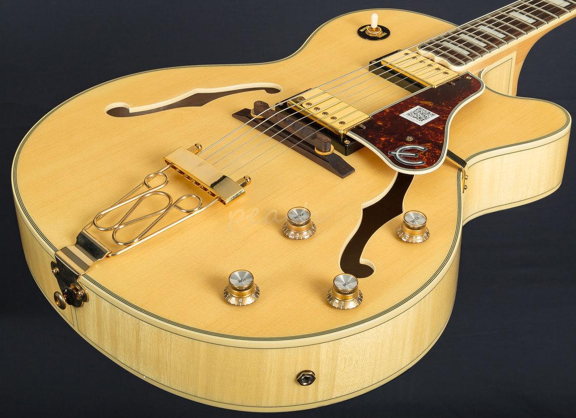 Epiphone Quot Joe Pass Quot Emperor Ii Pro Natural Peach Guitars