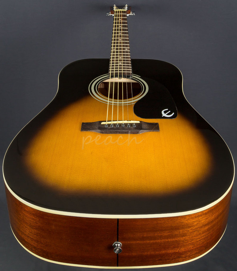 epiphone dr 100 acoustic vintage burst peach guitars. Black Bedroom Furniture Sets. Home Design Ideas