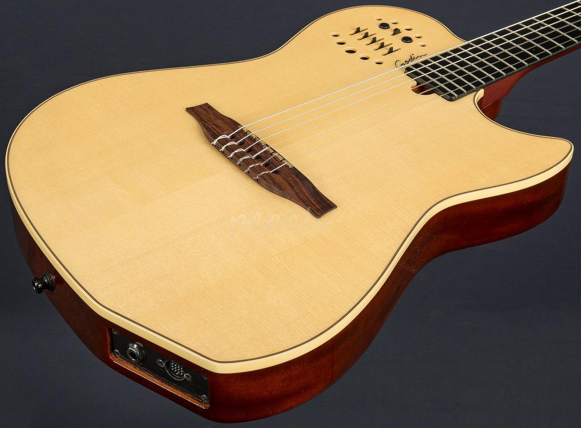 godin multiac encore nylon natural gigbag peach guitars. Black Bedroom Furniture Sets. Home Design Ideas