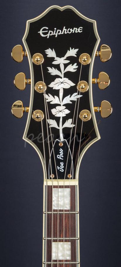 epiphone joe pass emperor ii natural gold peach guitars. Black Bedroom Furniture Sets. Home Design Ideas