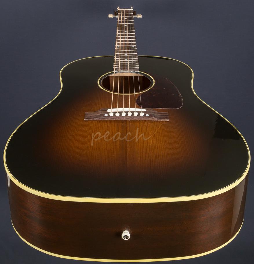 gibson 2016 j45 vintage sb acoustic peach guitars. Black Bedroom Furniture Sets. Home Design Ideas
