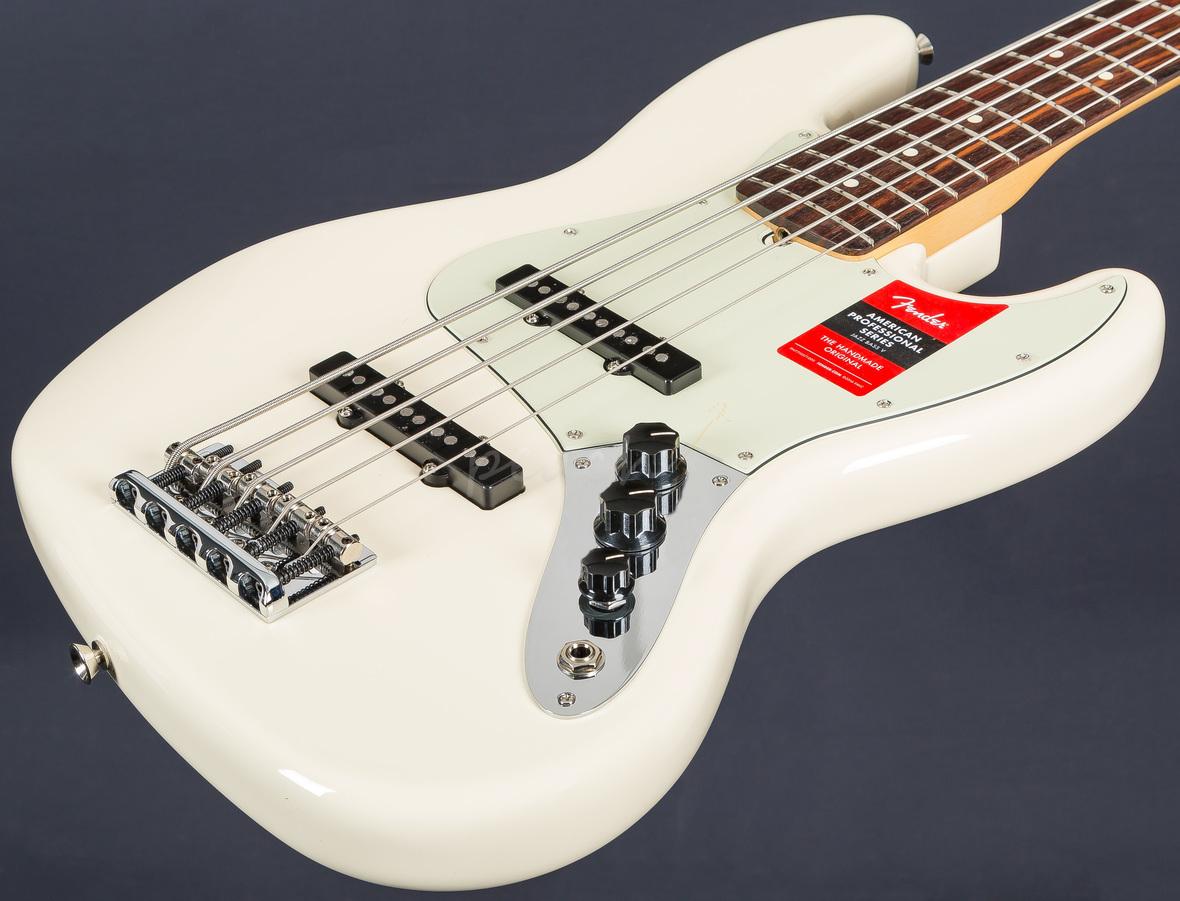 fender american pro jazz bass 5 string peach guitars. Black Bedroom Furniture Sets. Home Design Ideas