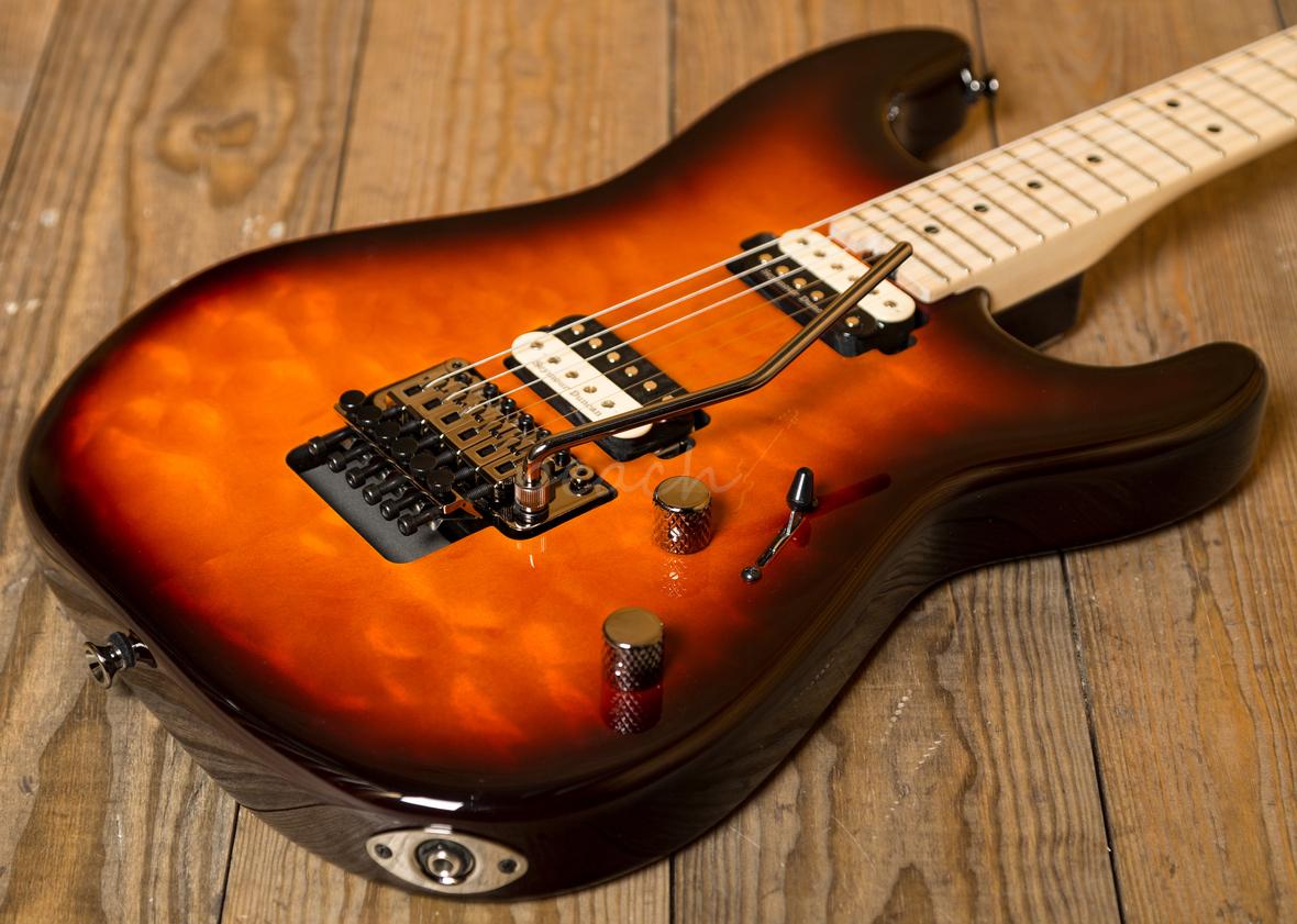 charvel pro mod san dimas style 1 hh floyd tobacco burst peach guitars. Black Bedroom Furniture Sets. Home Design Ideas