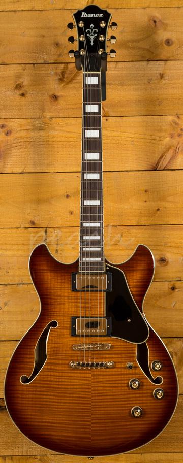 ibanez as93 vls in violin sunburst peach guitars. Black Bedroom Furniture Sets. Home Design Ideas