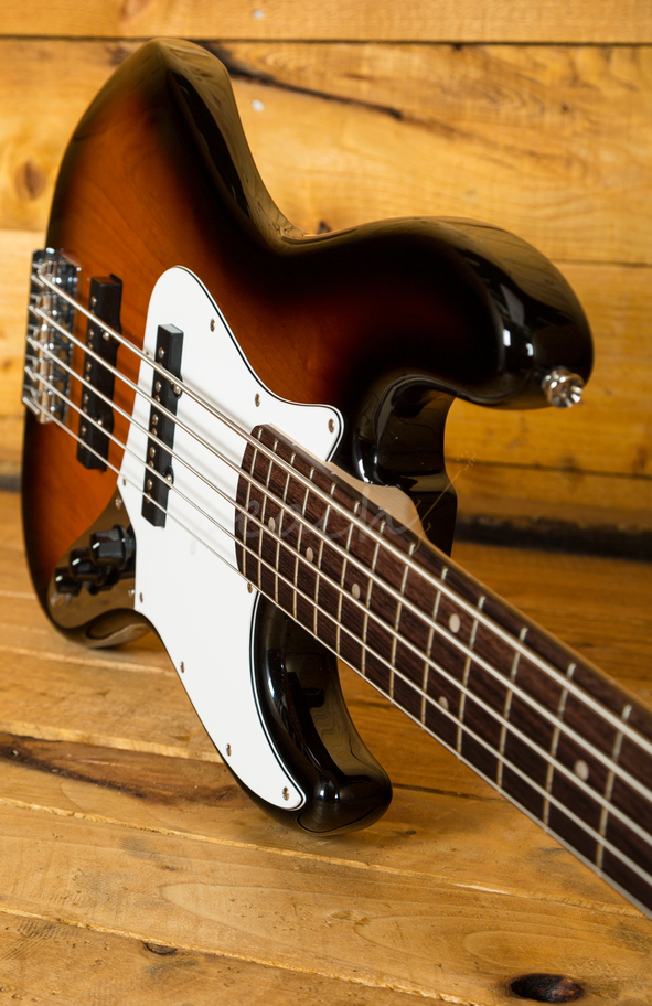 Taylor Guitars For Sale >> Squier Affinity Jazz Bass V Sunburst 5 - Peach Guitars