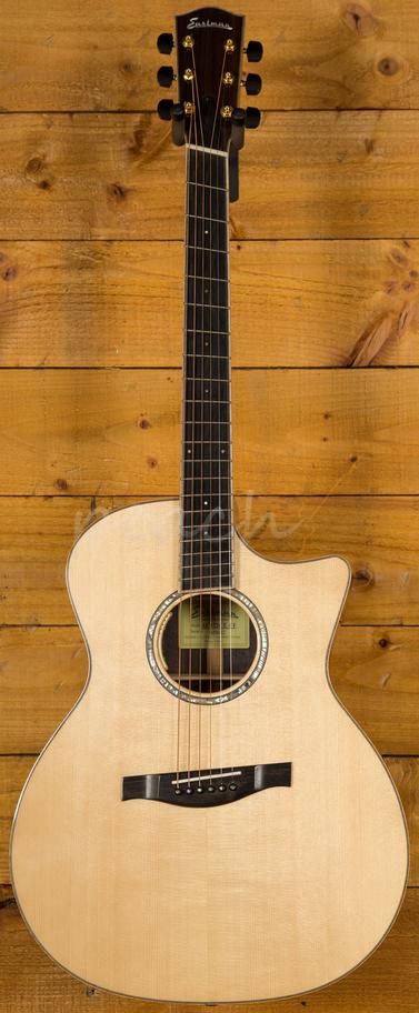 eastman ac822ce fan fret peach guitars. Black Bedroom Furniture Sets. Home Design Ideas