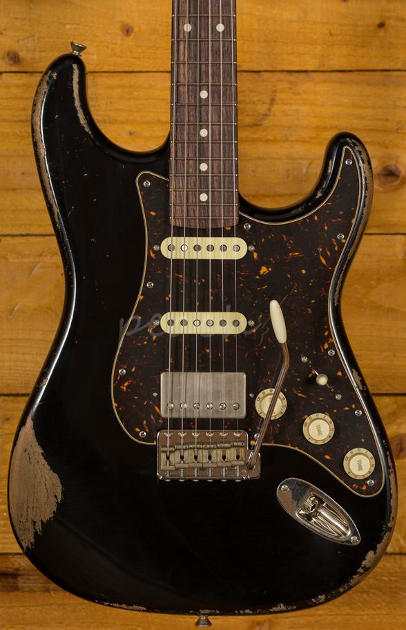 Duesenberg For Sale >> Xotic California Classic XSC-2 Black Heavy Aged - Peach ...