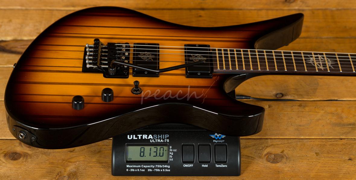 Schecter Usa Custom Shop Synester Gates Peach Guitars
