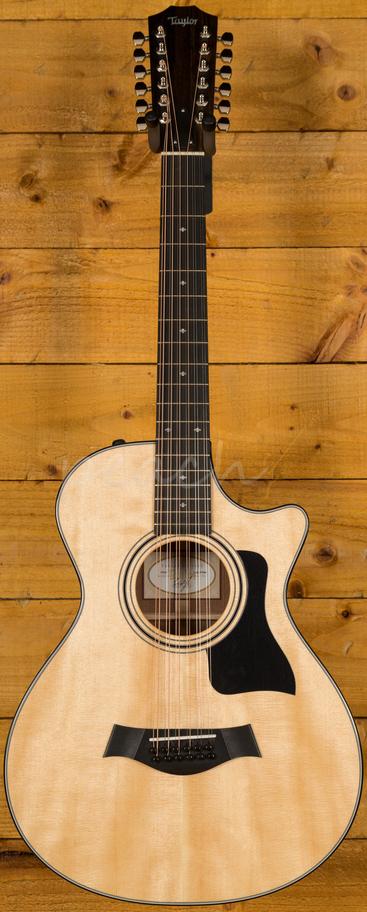 taylor 352ce 12 string peach guitars. Black Bedroom Furniture Sets. Home Design Ideas