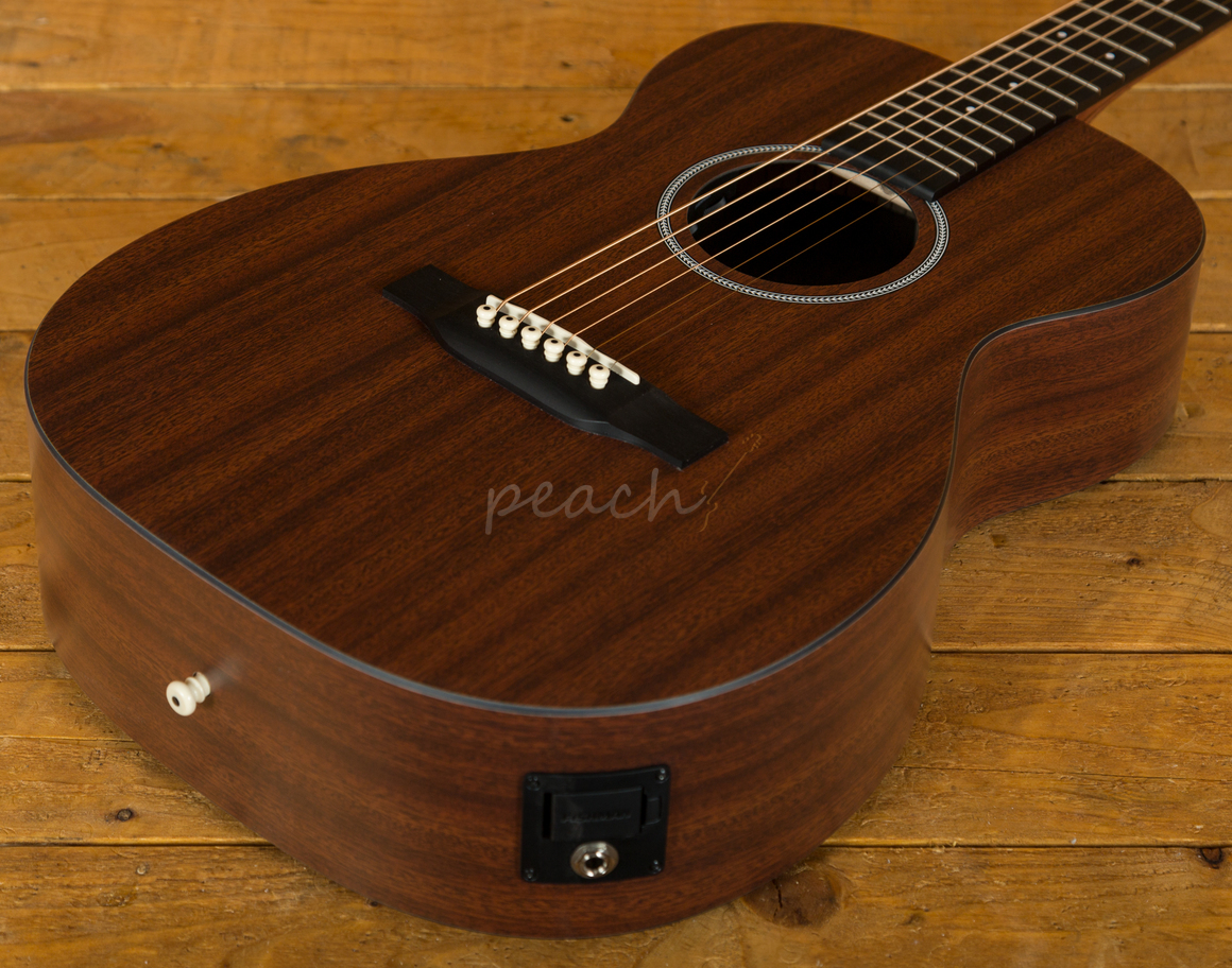 cf martin 0x2mae x series w fishman sonitone peach guitars. Black Bedroom Furniture Sets. Home Design Ideas