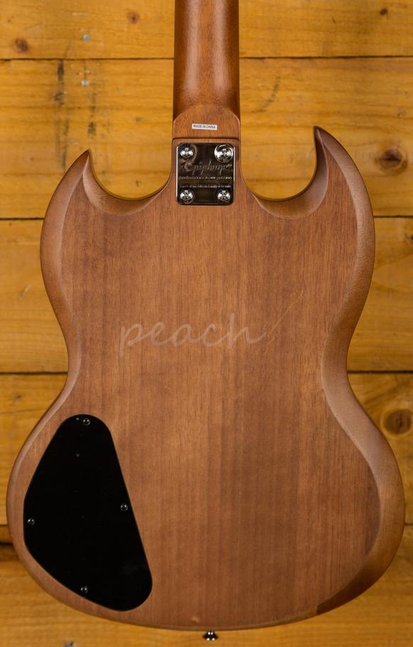 Epiphone Sg Special Ve Vintage Walnut Peach Guitars