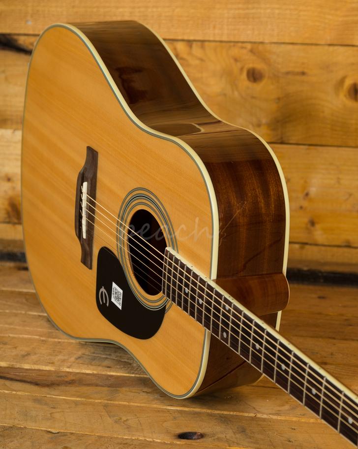 epiphone pro 1 plus natural acoustic guitar peach guitars. Black Bedroom Furniture Sets. Home Design Ideas