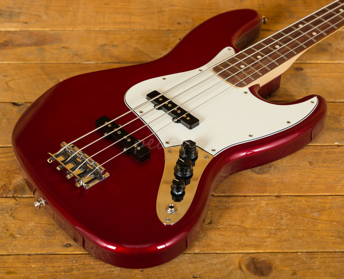 fender mexican std jazz bass ca red peach guitars. Black Bedroom Furniture Sets. Home Design Ideas