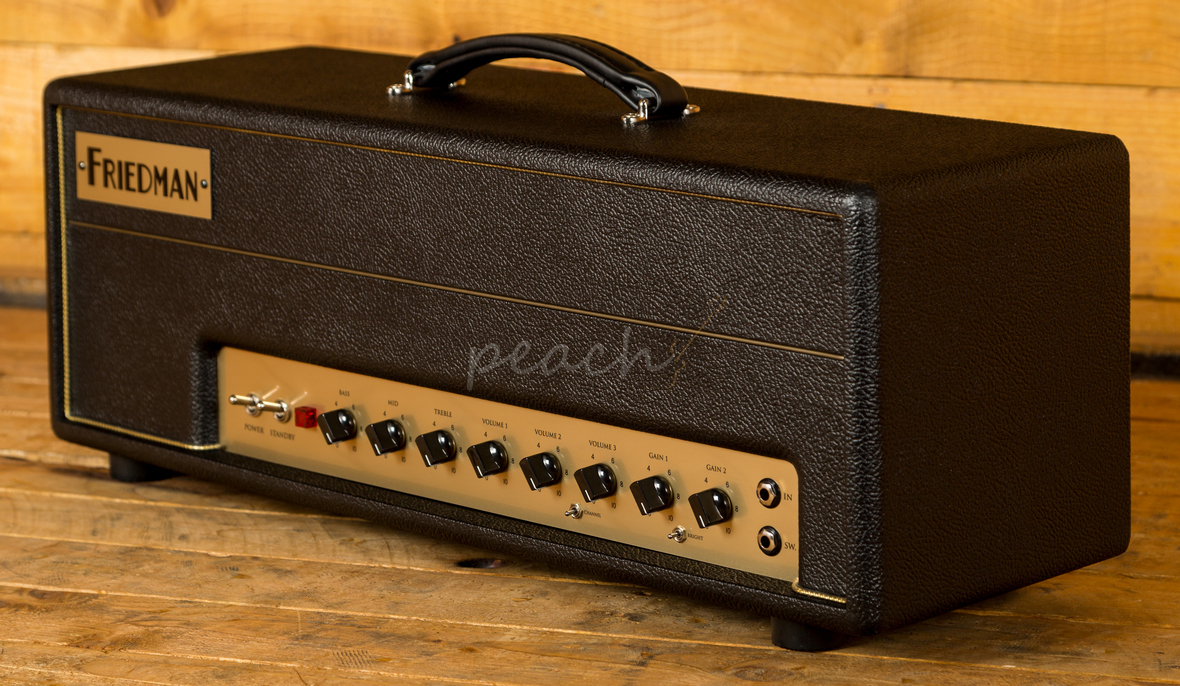 Friedman Small Box : friedman small box 50 head 3 mode peach guitars ~ Vivirlamusica.com Haus und Dekorationen