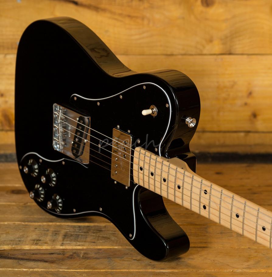 fender 72 tele custom classic maple blk peach guitars. Black Bedroom Furniture Sets. Home Design Ideas
