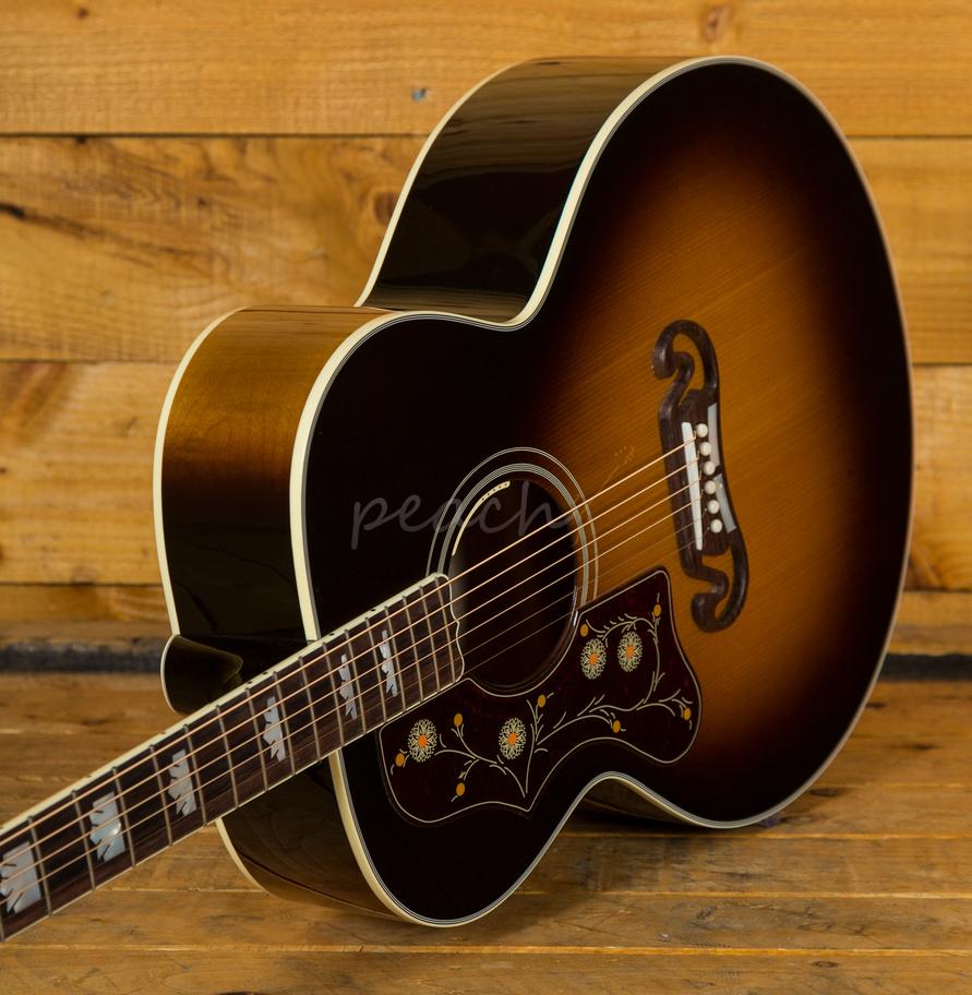 gibson sj200 standard vintage sunburst 2018 left handed peach guitars. Black Bedroom Furniture Sets. Home Design Ideas