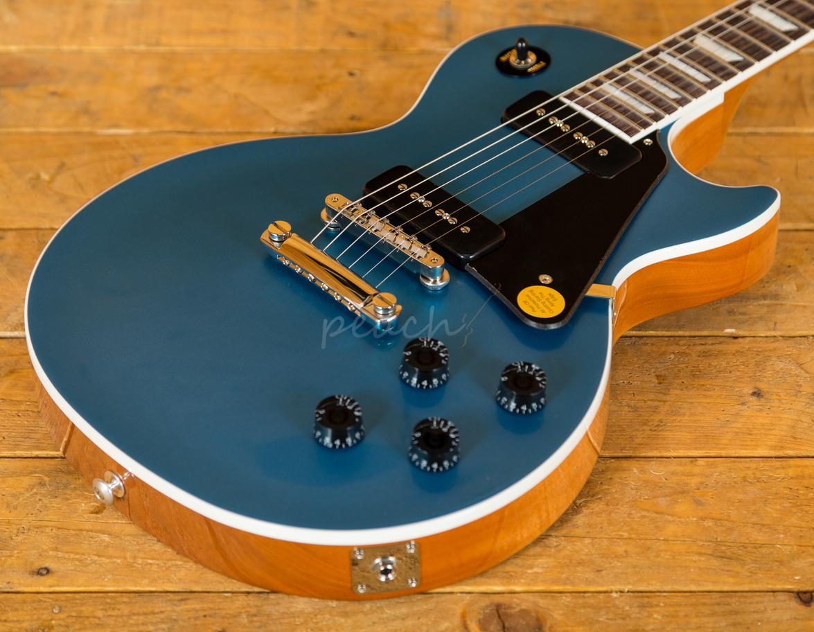 gibson usa 2018 les paul classic in pelham blue peach guitars. Black Bedroom Furniture Sets. Home Design Ideas