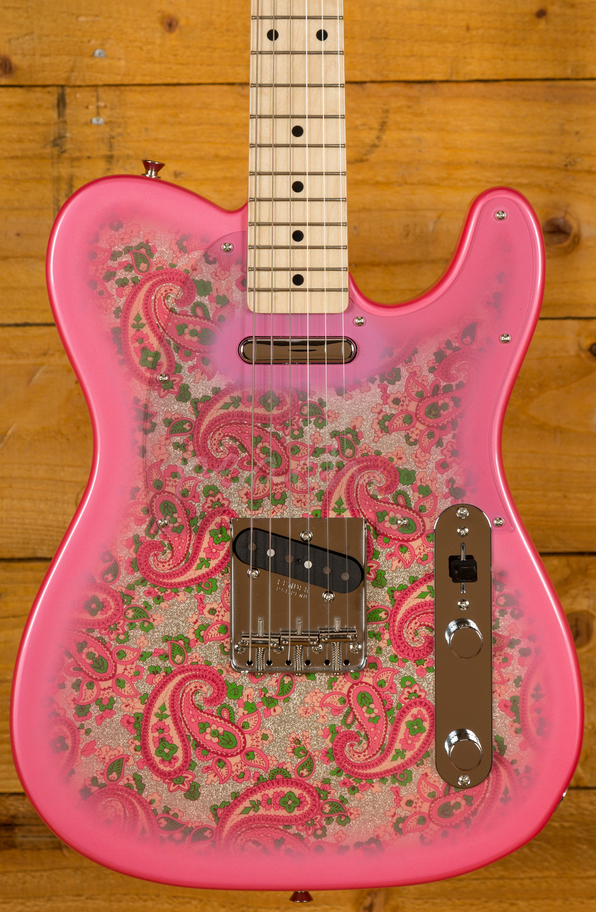fender classic 69 tele pink paisley peach guitars. Black Bedroom Furniture Sets. Home Design Ideas