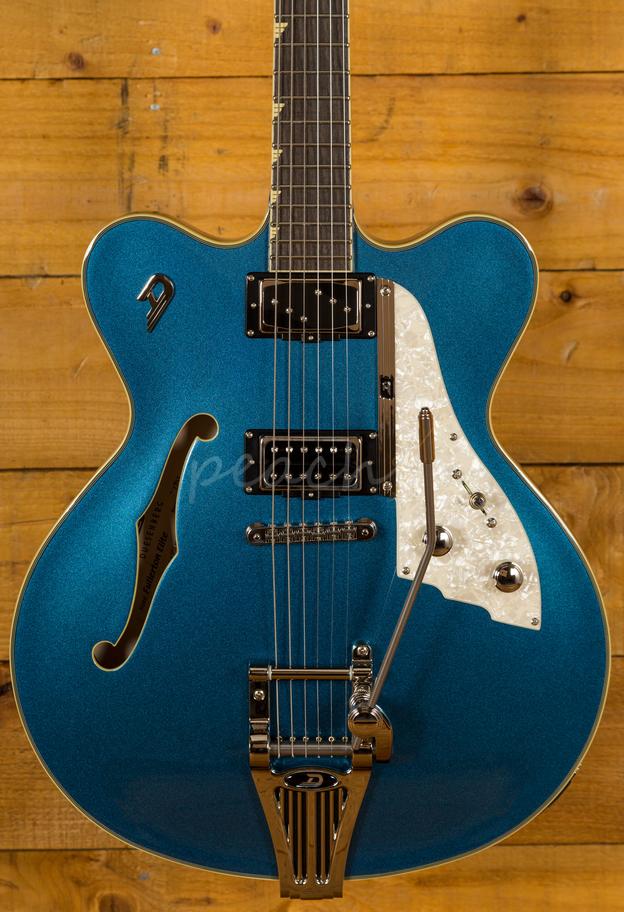 Duesenberg Cc Fullerton Elite Catalina Blue Peach Guitars