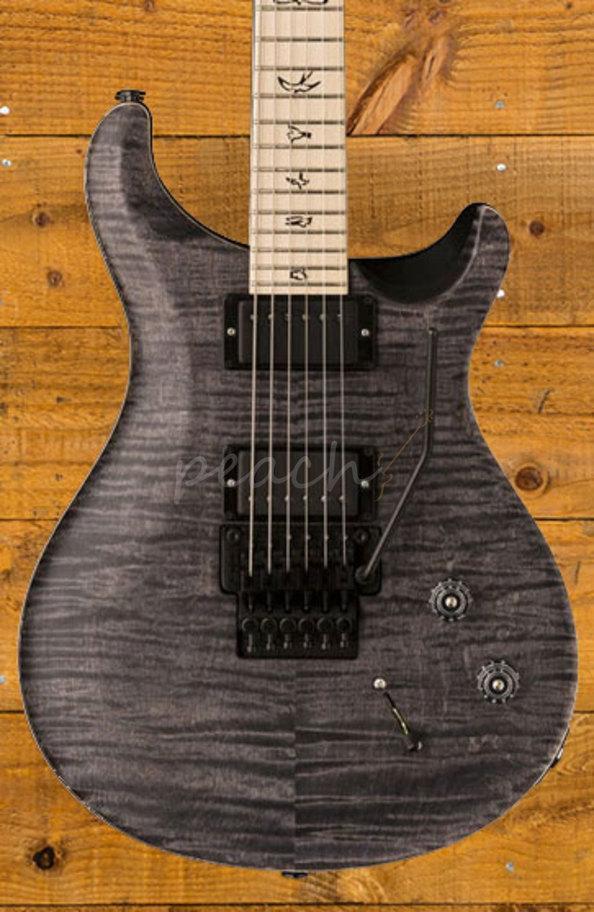 Prs Dusty Waring Ce Ltd - Satin Grey Black