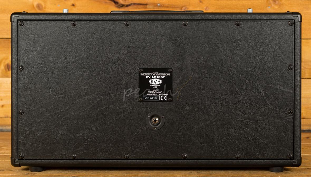 Evh 5150 Iii 212st Cabinet Black Peach Guitars
