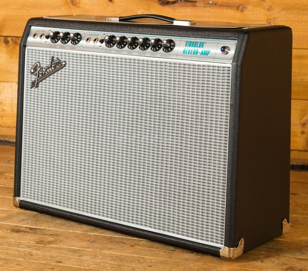 fender 68 custom vibrolux reverb peach guitars. Black Bedroom Furniture Sets. Home Design Ideas