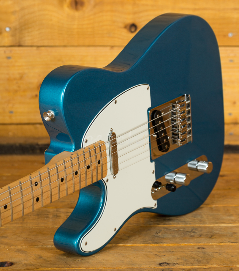 fender telecaster lake placid blue l hand peach guitars. Black Bedroom Furniture Sets. Home Design Ideas