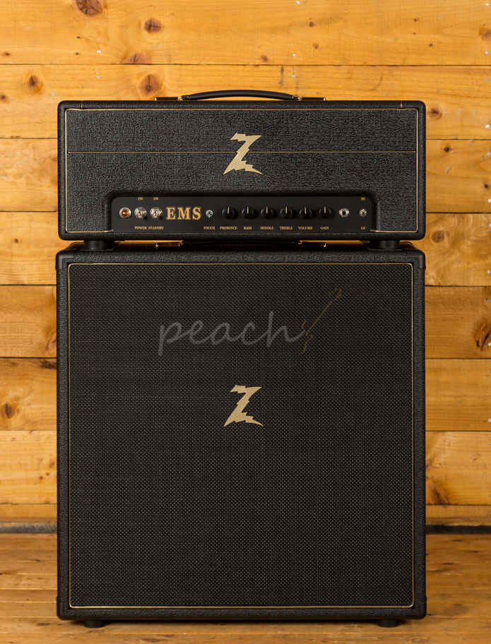 dr z amps ems head and 2x12 cab used peach guitars. Black Bedroom Furniture Sets. Home Design Ideas